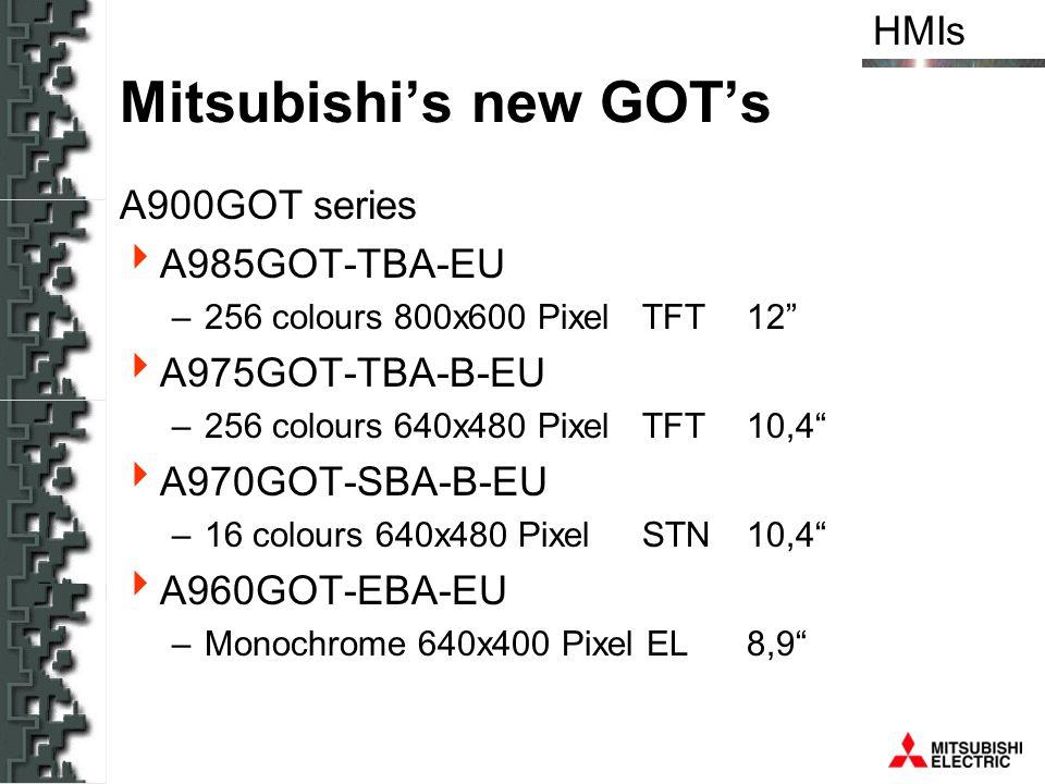 Mitsubishi's new GOT's