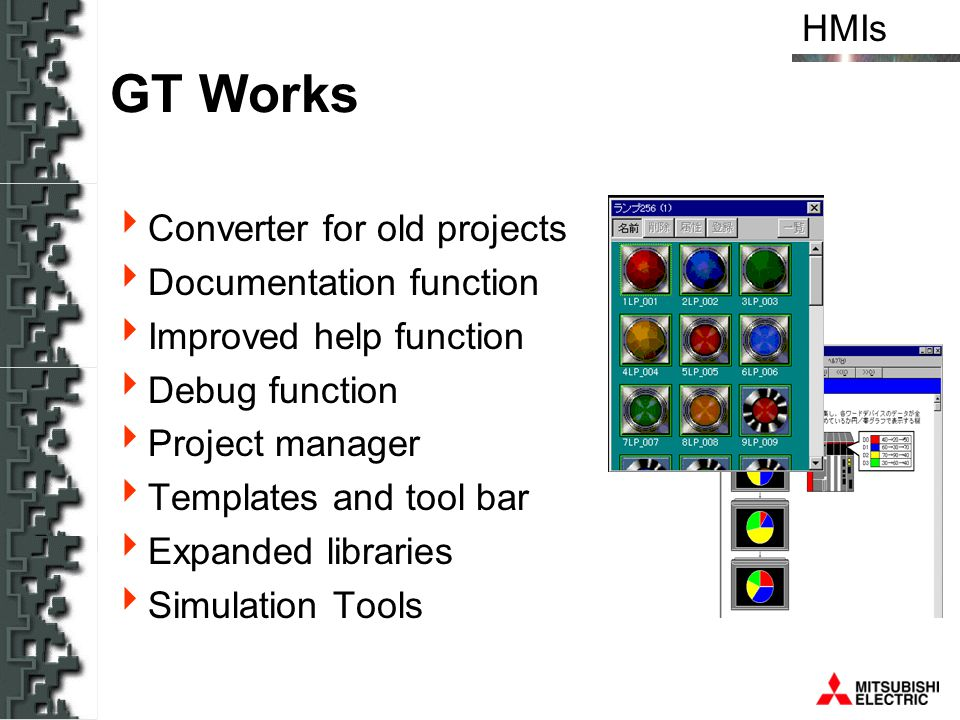 GT Works Converter for old projects Documentation function