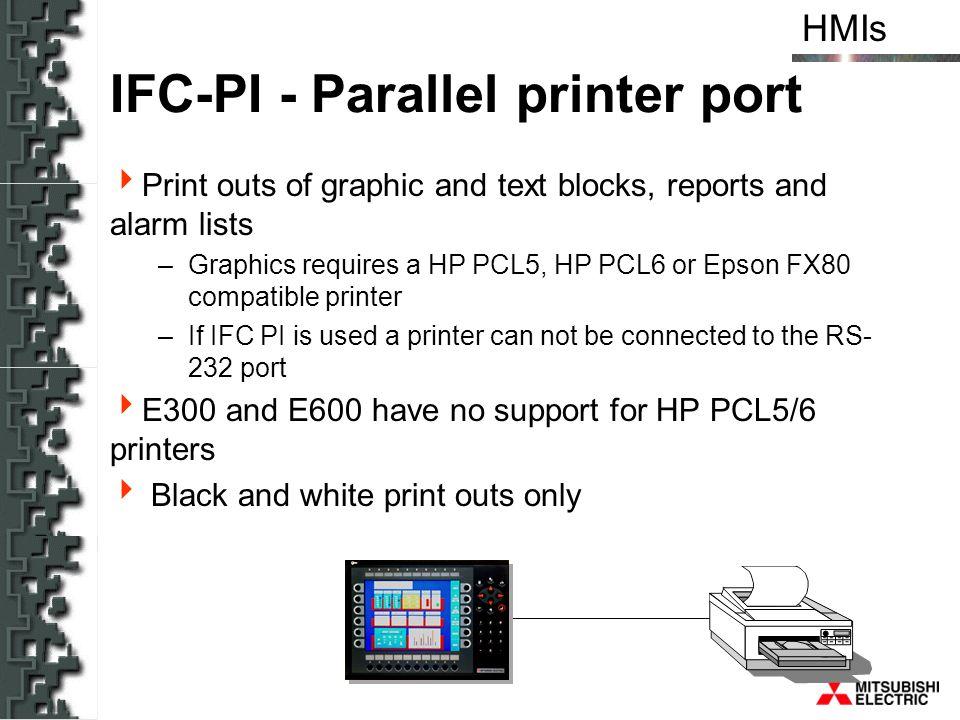 IFC-PI - Parallel printer port
