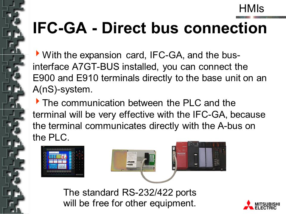 IFC-GA - Direct bus connection