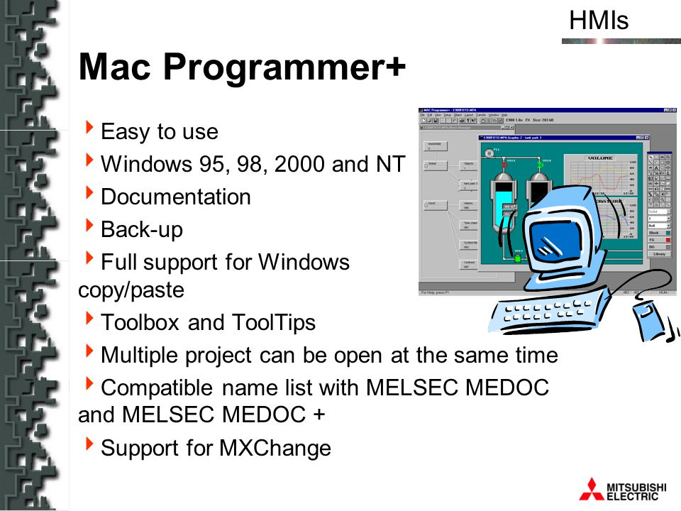 Mac Programmer+ Easy to use Windows 95, 98, 2000 and NT Documentation