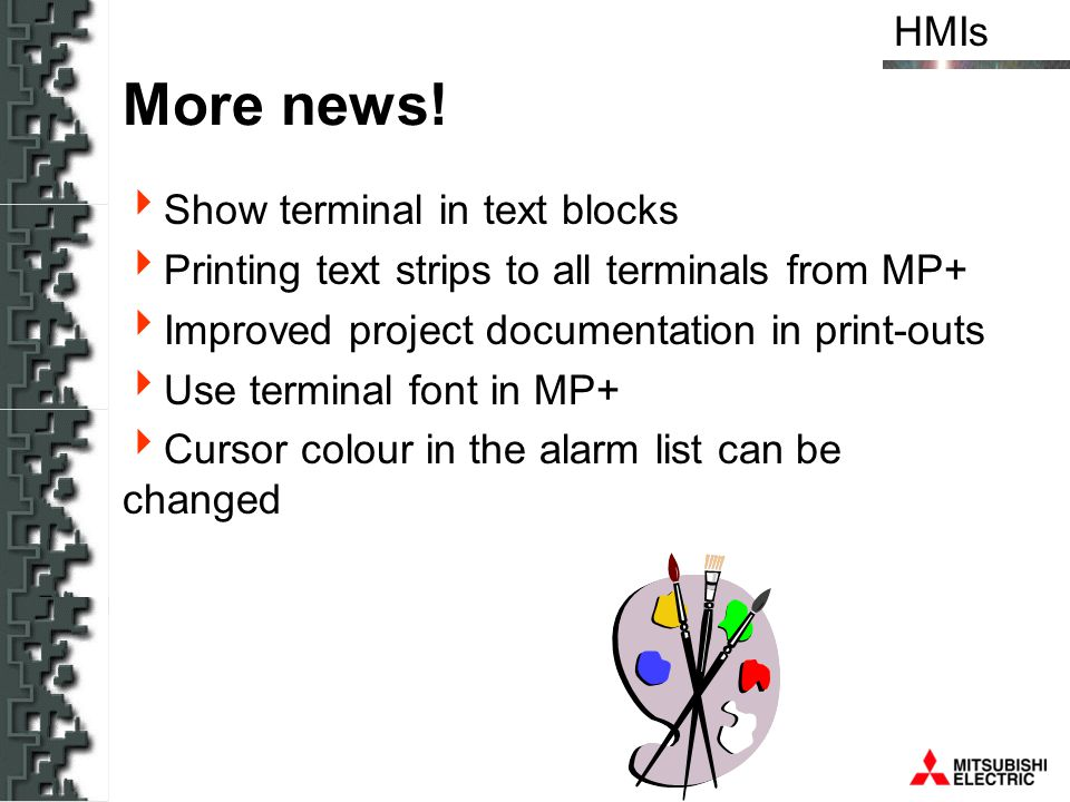 More news! Show terminal in text blocks