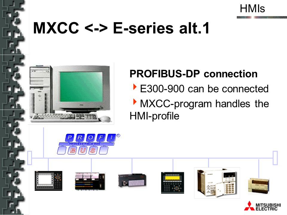 MXCC <-> E-series alt.1