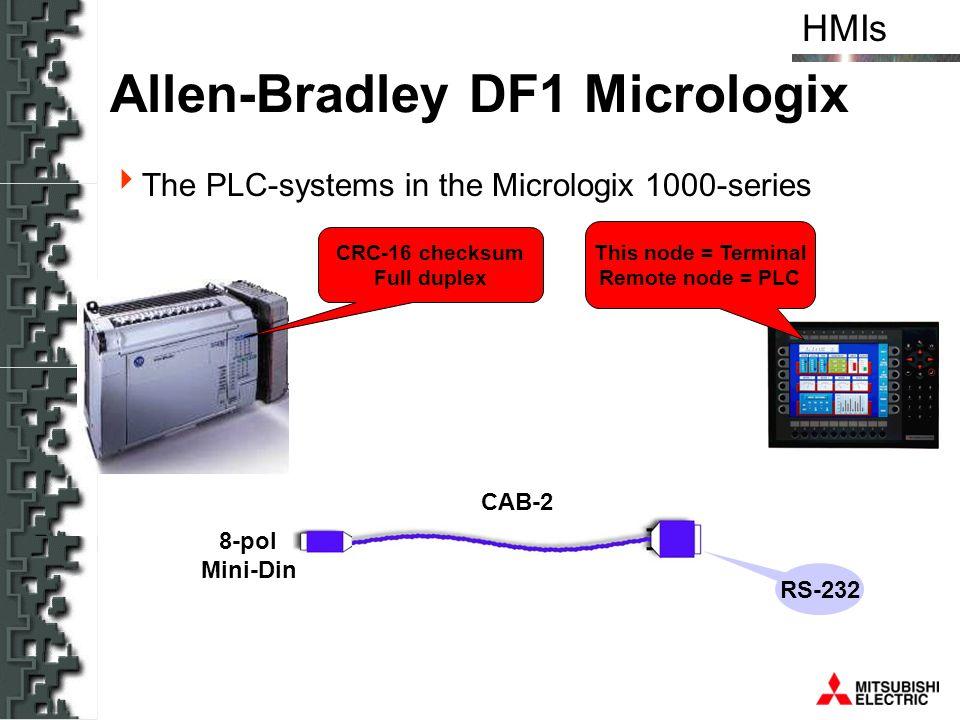 Allen-Bradley DF1 Micrologix