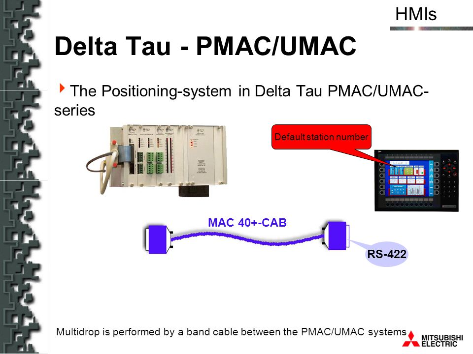 Hmis human machine interfaces ppt download for Delta tau data systems