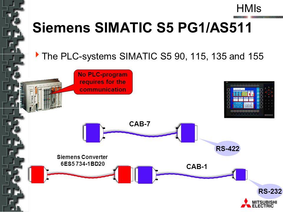 Siemens SIMATIC S5 PG1/AS511