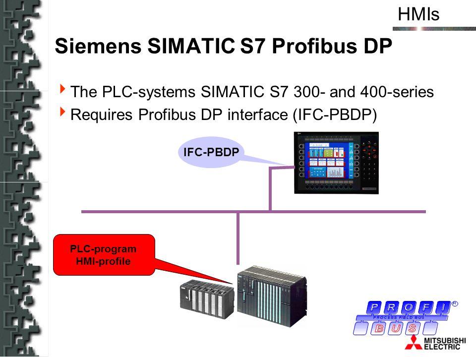 Siemens SIMATIC S7 Profibus DP