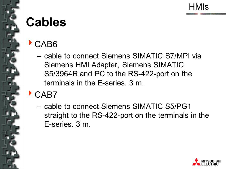 Cables CAB6.