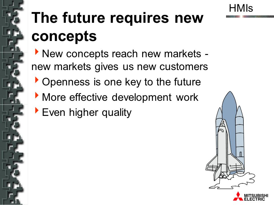 The future requires new concepts