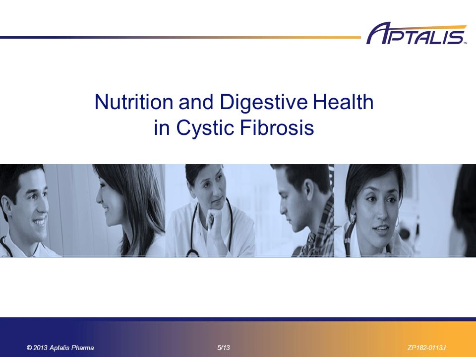 Nutrition and Digestive Health in Cystic Fibrosis