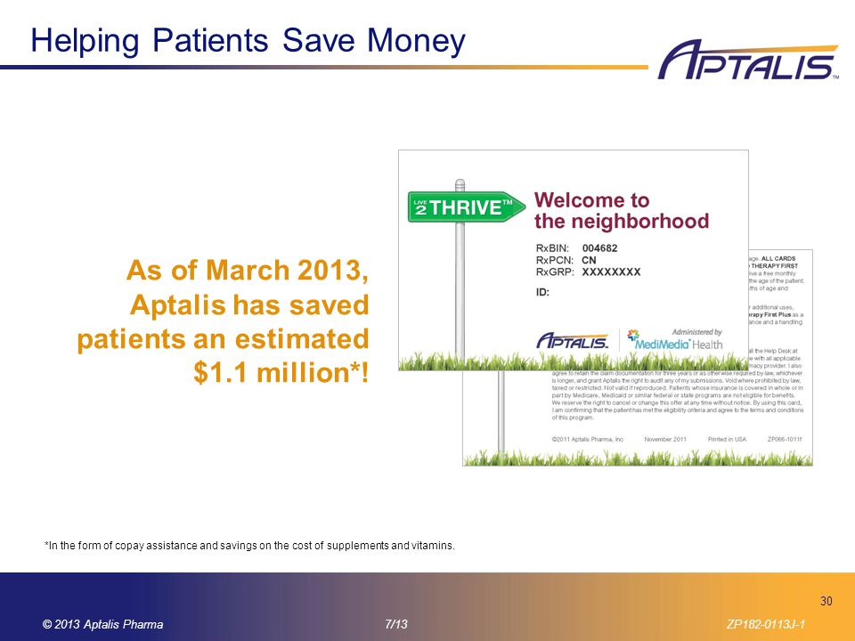 Helping Patients Save Money