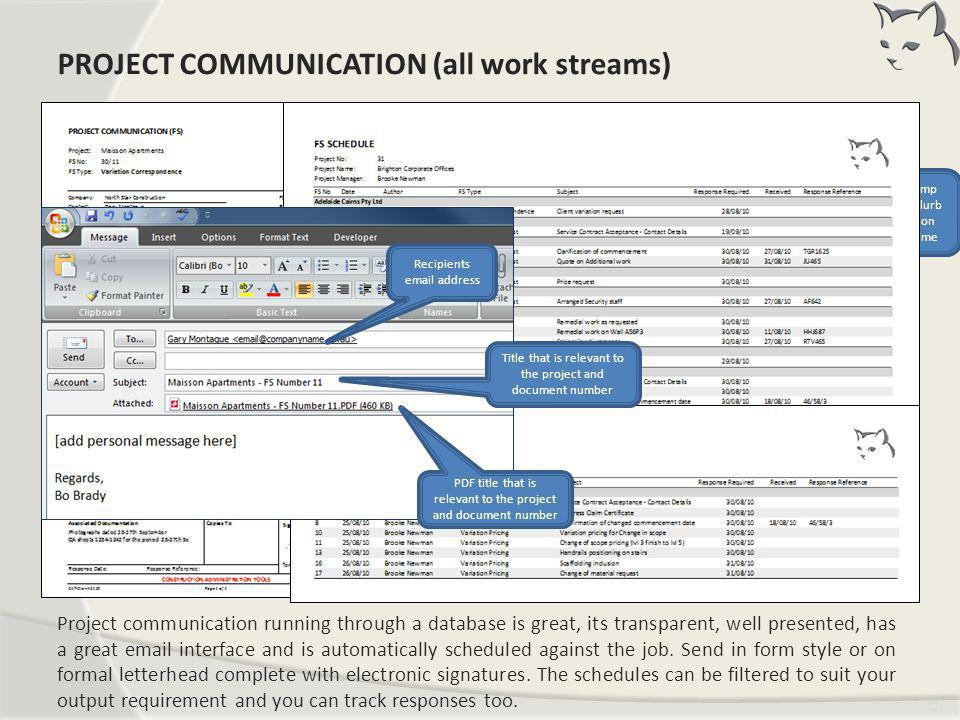 Project Communication (FS)
