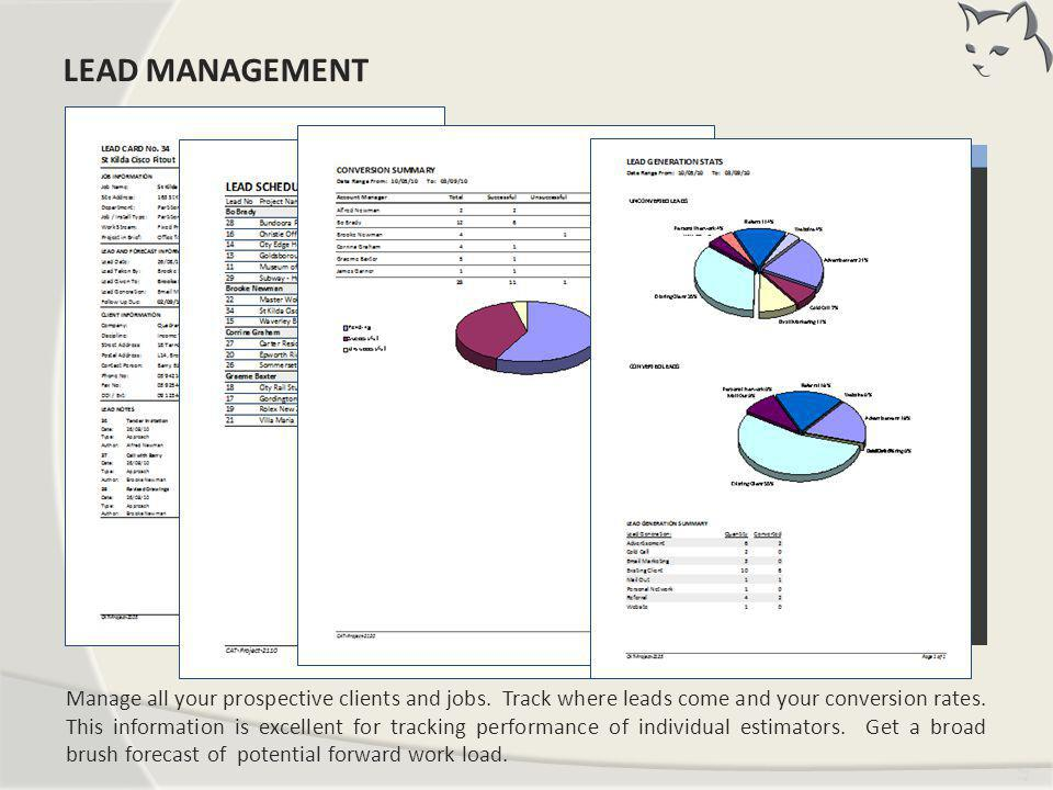 Lead Management LEAD MANAGEMENT