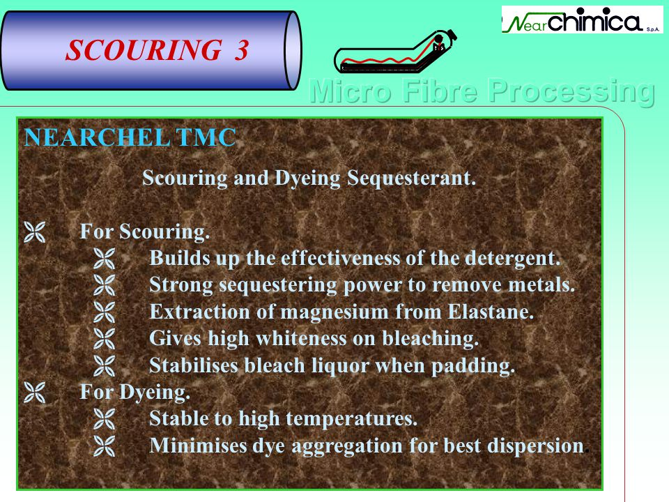 Scouring and Dyeing Sequesterant.