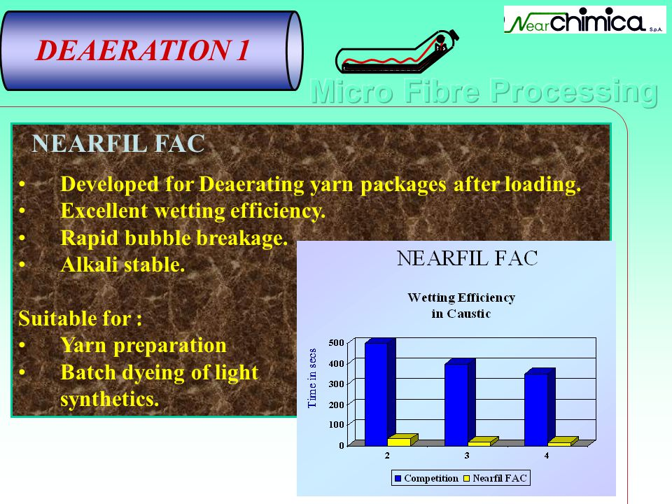 DEAERATION 1 NEARFIL FAC