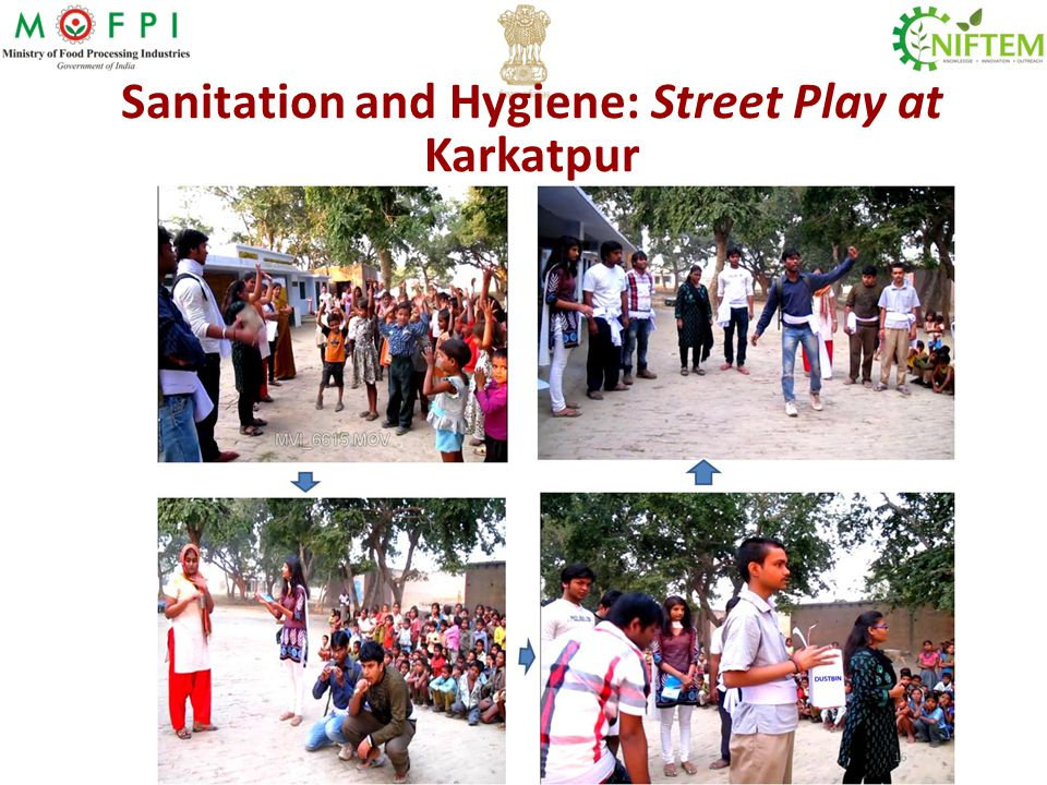 Sanitation and Hygiene: Street Play at Karkatpur
