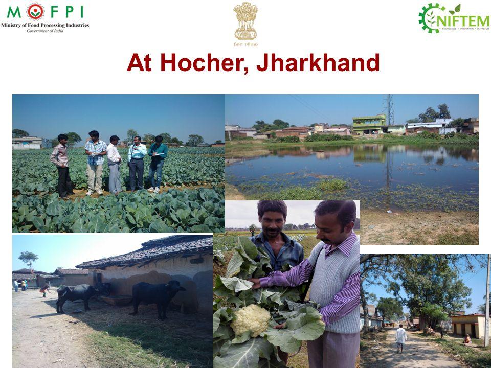 At Hocher, Jharkhand