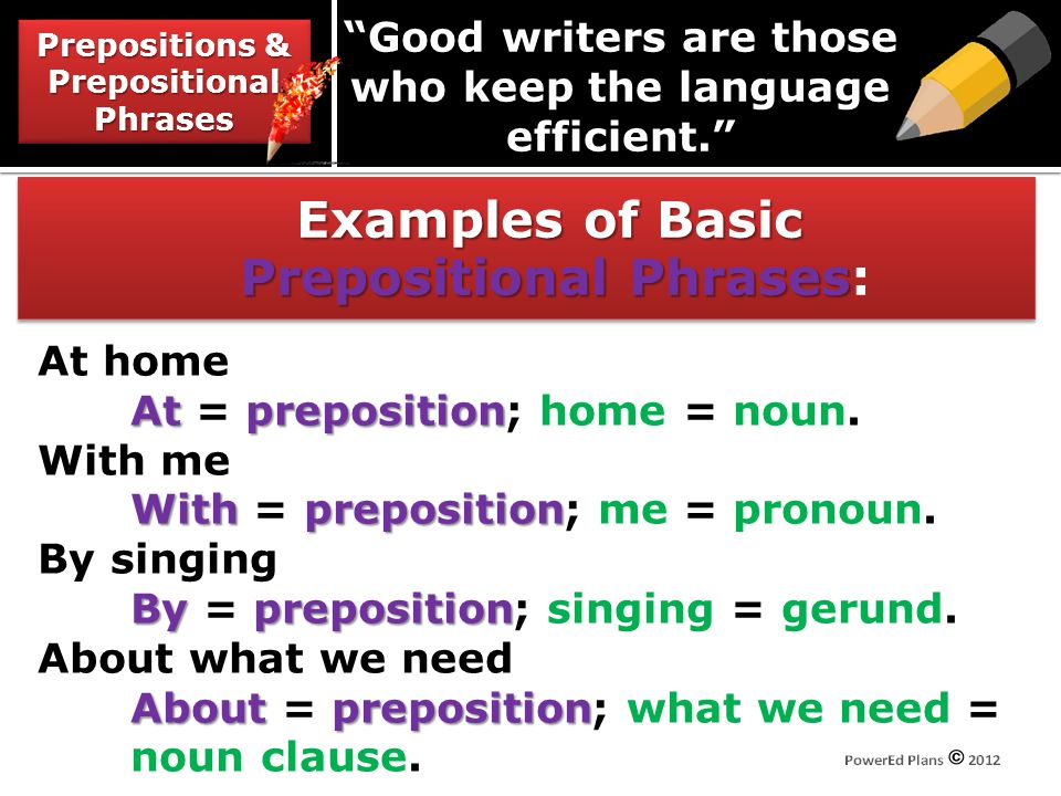 Good writers are those who keep the language efficient.