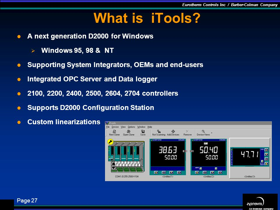 What is iTools A next generation D2000 for Windows