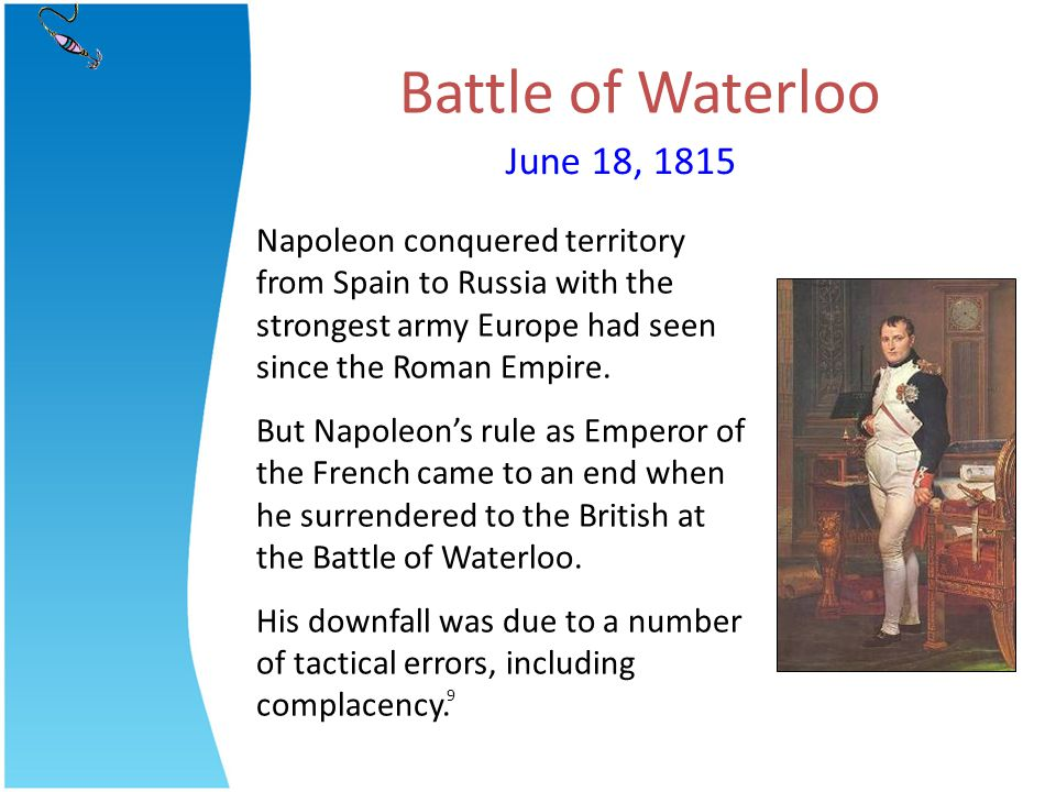 Battle of Waterloo June 18, 1815
