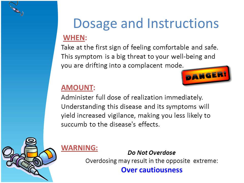Dosage and Instructions