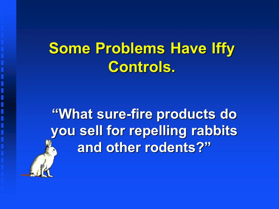 Some Problems Have Iffy Controls.