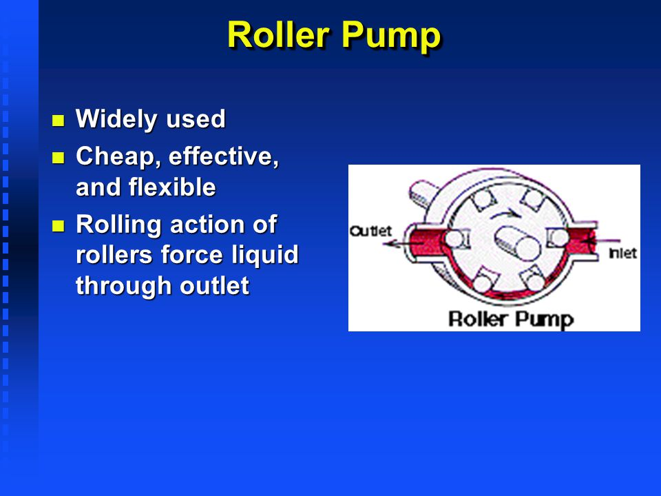 Roller Pump Widely used Cheap, effective, and flexible