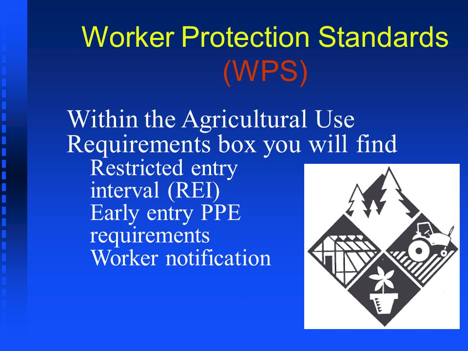 Worker Protection Standards (WPS)