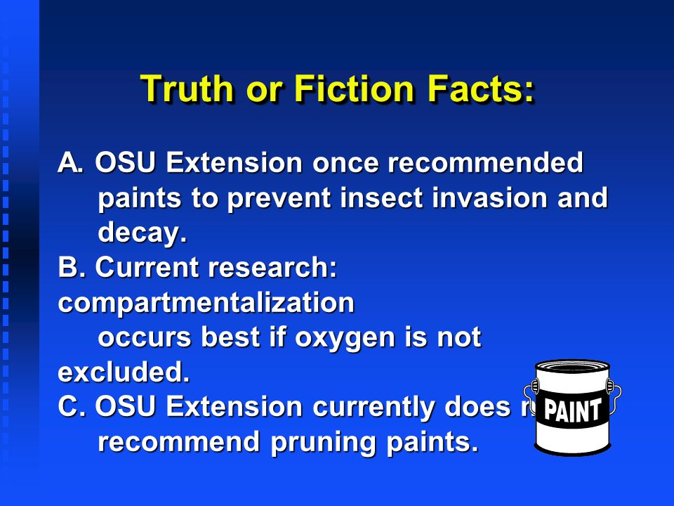 Truth or Fiction Facts: