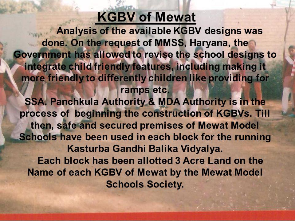 KGBV of Mewat