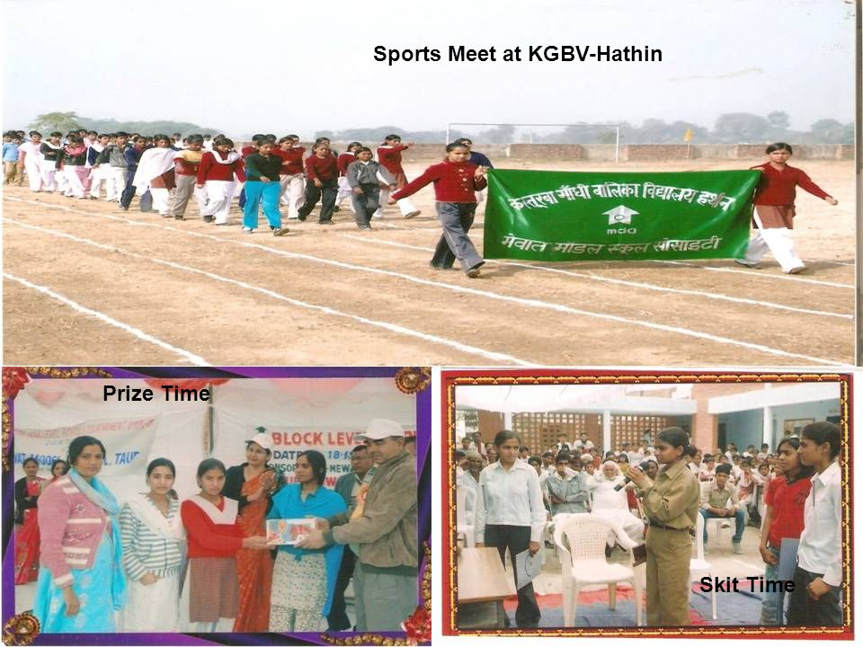 Sports Meet at KGBV-Hathin