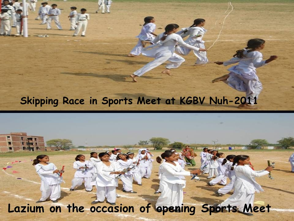 Lazium on the occasion of opening Sports Meet