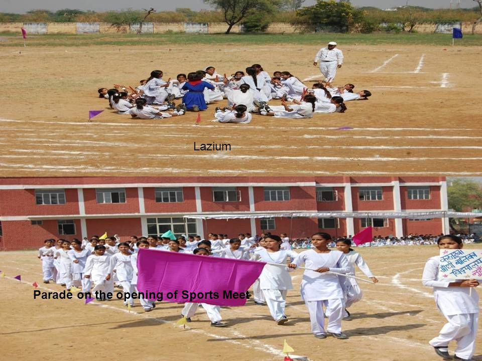 Lazium Parade on the opening of Sports Meet