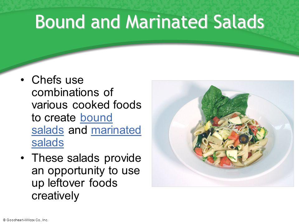 Bound and Marinated Salads