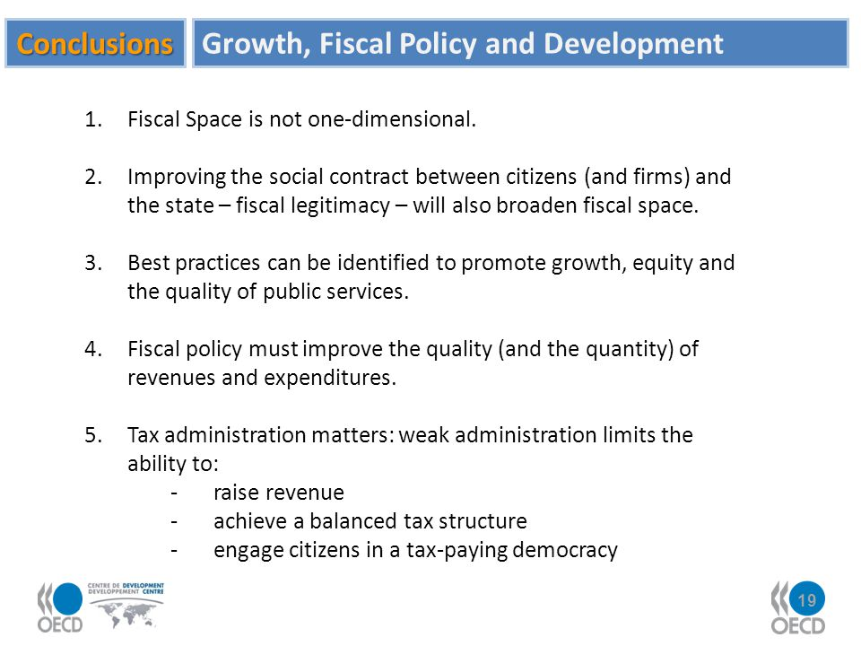 Growth, Fiscal Policy and Development