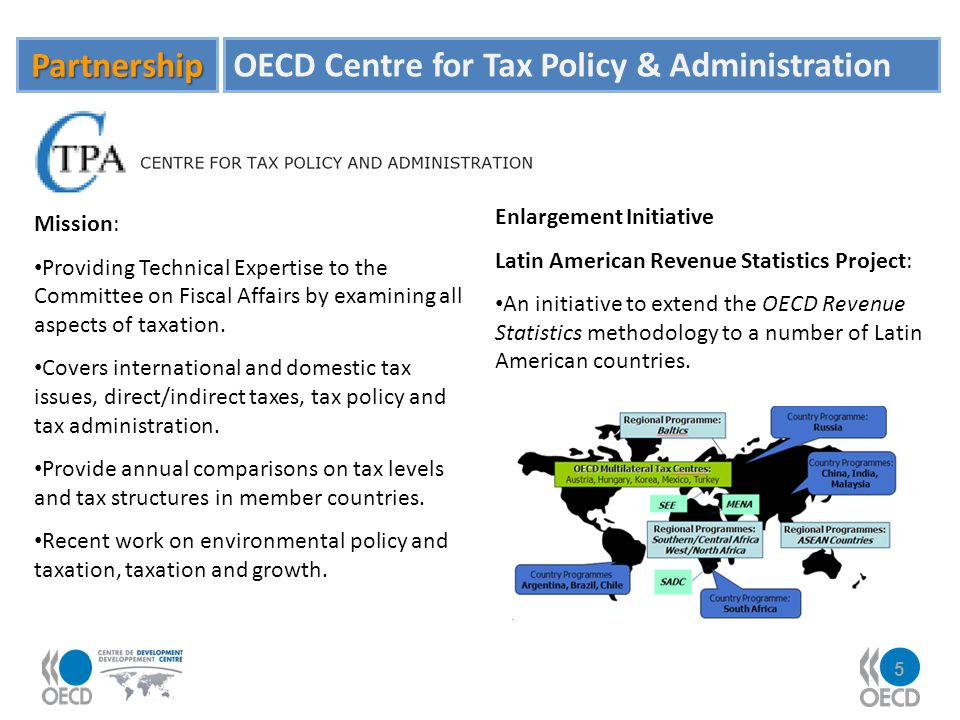 OECD Centre for Tax Policy & Administration