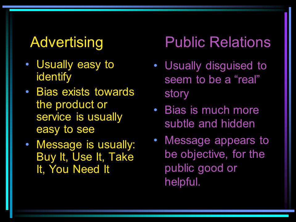 Advertising Public Relations