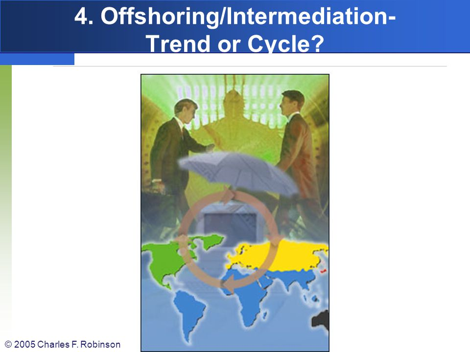 4. Offshoring/Intermediation- Trend or Cycle