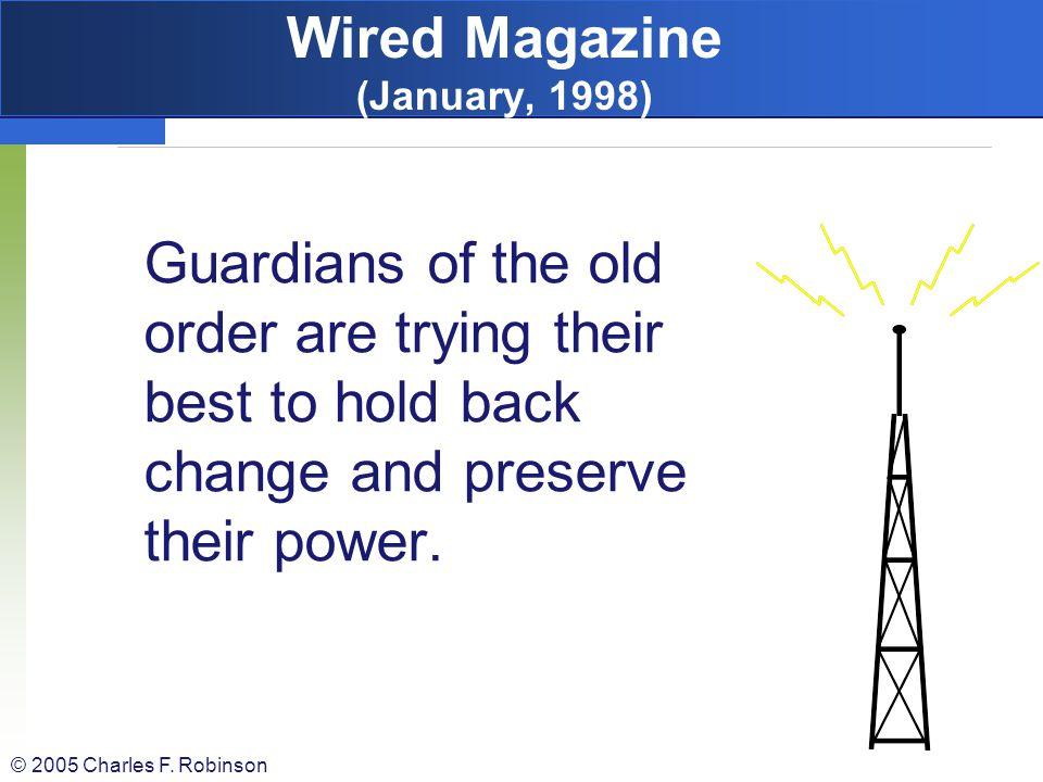Wired Magazine (January, 1998)