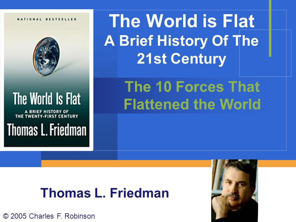 The World is Flat A Brief History Of The 21st Century