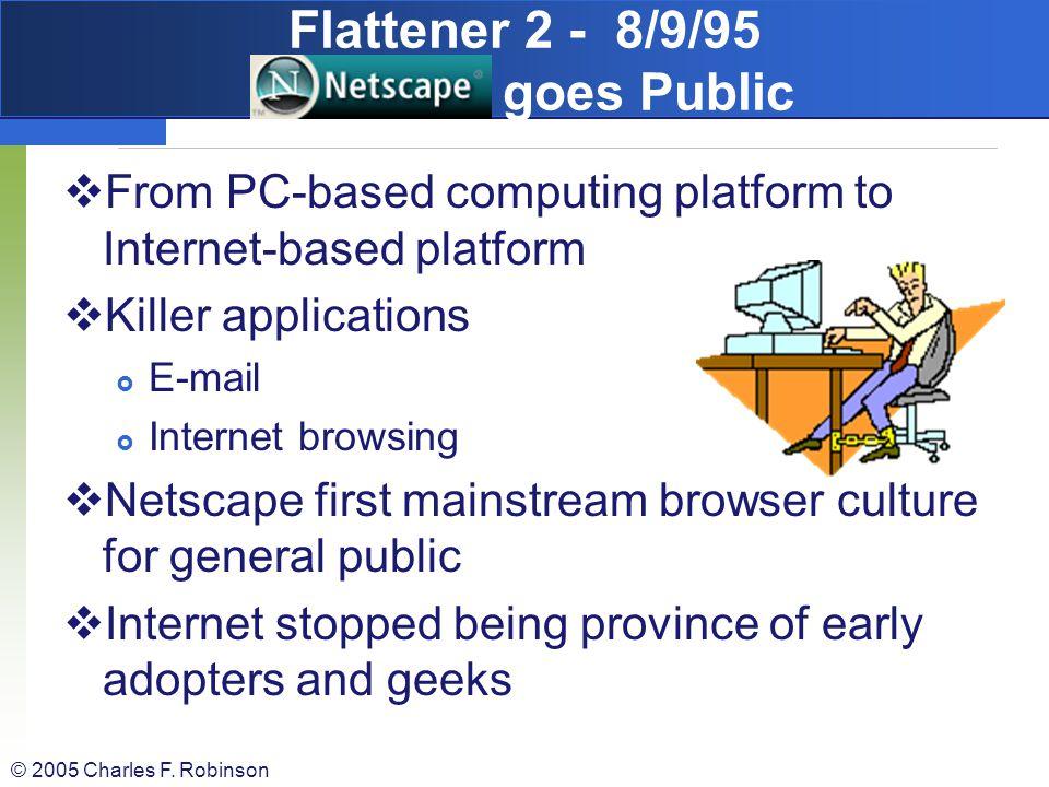 Flattener 2 - 8/9/95 Netscape goes Public