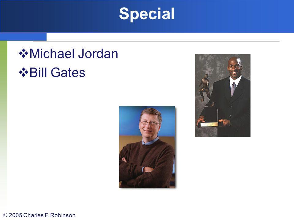 Special Michael Jordan Bill Gates