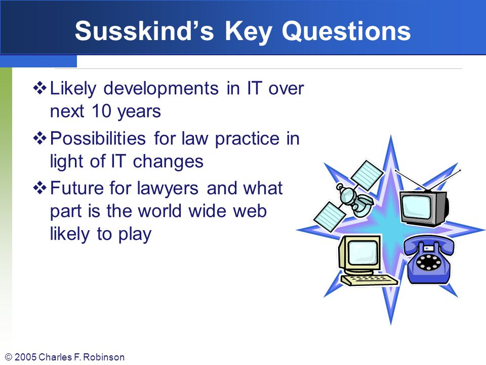 Susskind's Key Questions