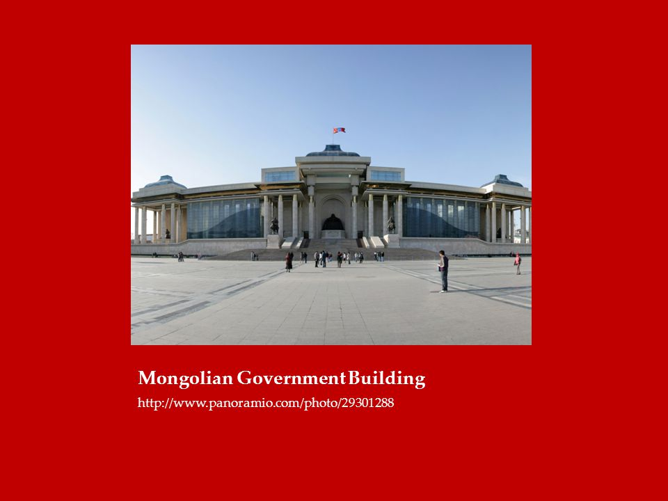 Mongolian Government Building