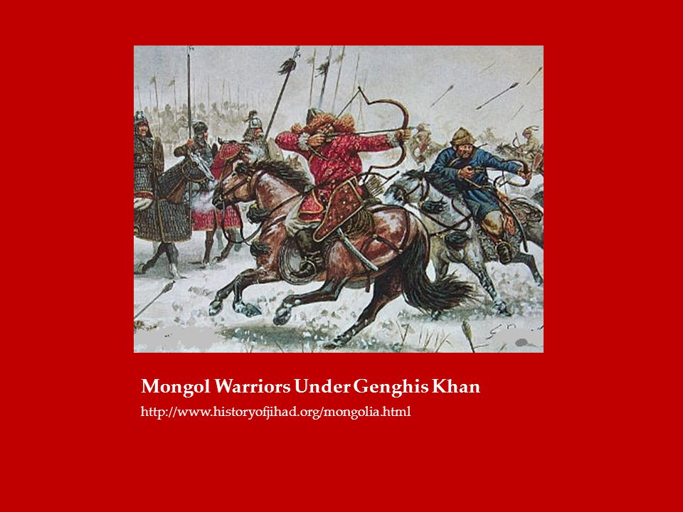 Mongol Warriors Under Genghis Khan
