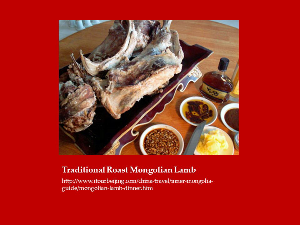 Traditional Roast Mongolian Lamb