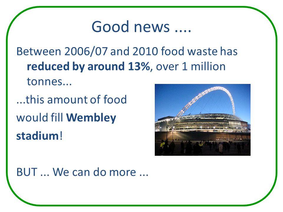 Good news ....