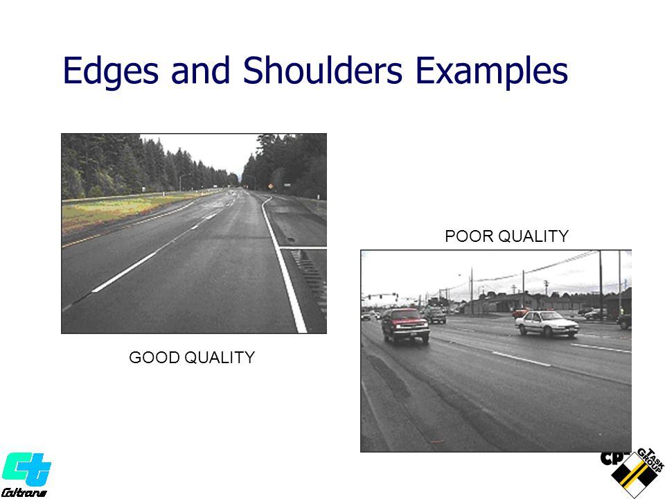 Edges and Shoulders Examples
