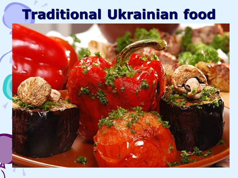 Traditional Ukrainian food