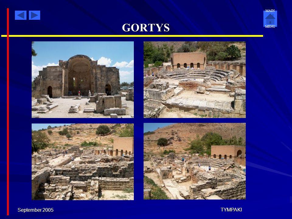 GORTYS September 2005 TYMPAKI